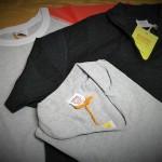 BARNS ラグランクルークレイジーパターンTシャツ,スキッパーwith aカラー再入荷