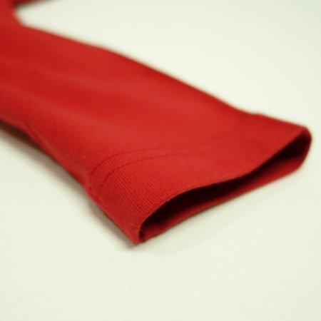 袖口は2本針縫製