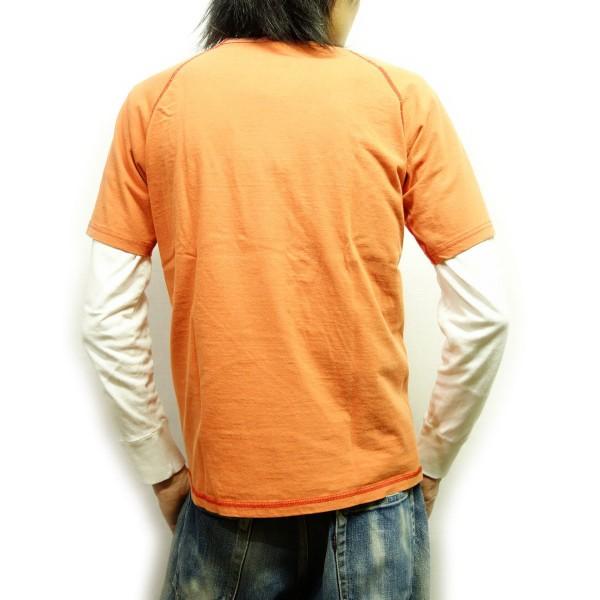 身長174cm(やせ型)Mサイズを着用例