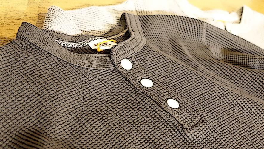 BR-3051 サーマルヘンリーTシャツ