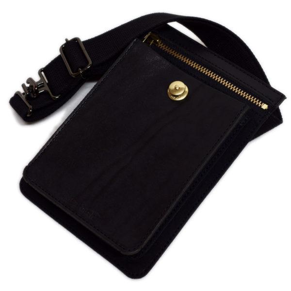 リフルハッチ 9号帆布×牛革 ポケットバッグ